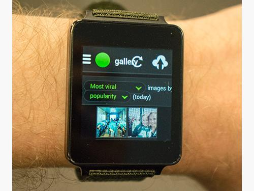 Imgur on an Android watch