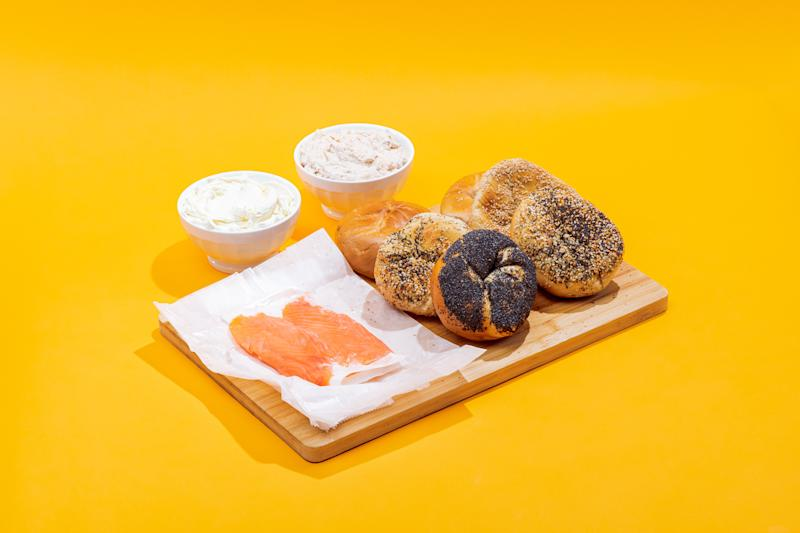 In the weeks since the coronavirus-related lockdown, more than 100,000 New York City bagels have shipped via Goldbelly. (Photo: Goldbelly)