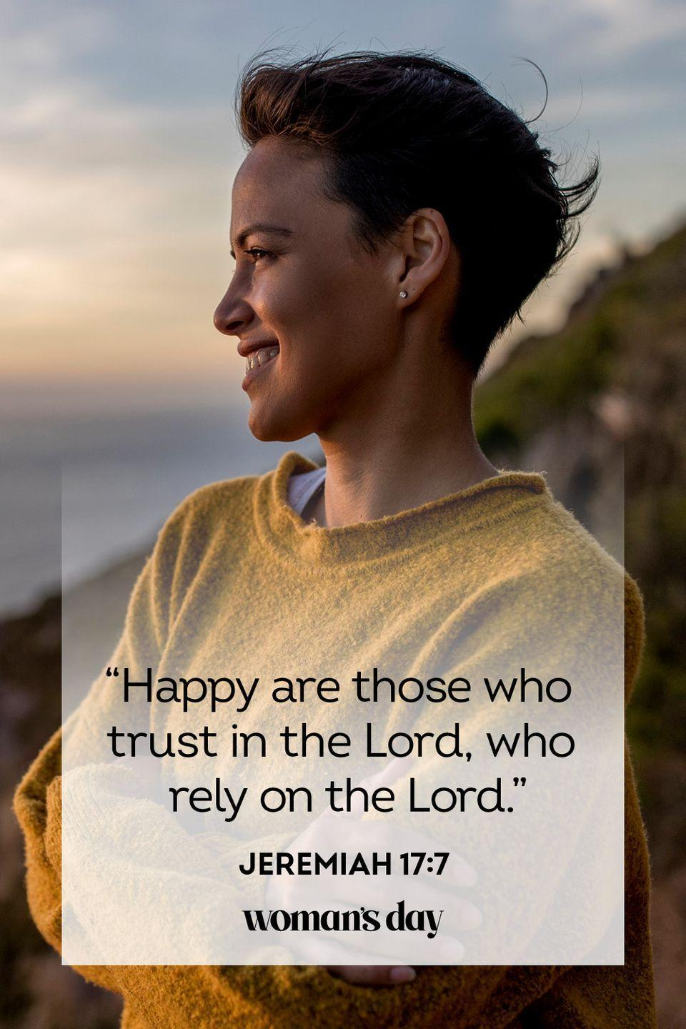 """<p>""""Happy are those who trust in the Lord, who rely on the Lord.""""</p><p><strong>The Good News:</strong> If you place your faith in God, you may be surprised at how your anxious thoughts dissipate.</p>"""