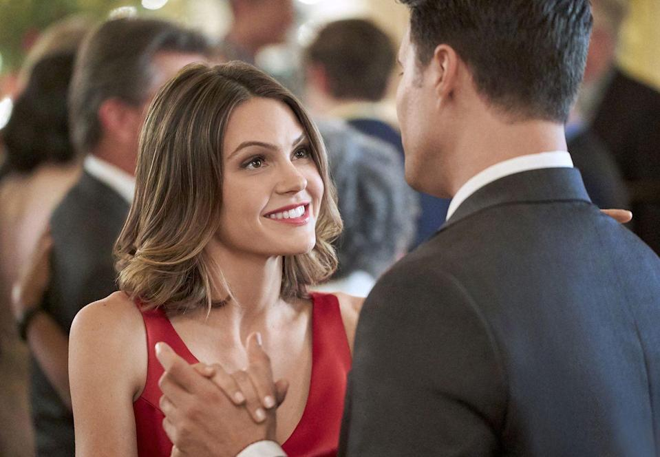 """<p><strong>Premieres:</strong> January 9 at 9 p.m. ET</p><p><strong>Stars:</strong> Aimee Teegarden and Michael Rady</p><p><strong>What's it about?: </strong>Anyone ever tell you to say """"yes"""" to things more often? Then you'll love this movie about a morning show producer who decides to take that challenge, finding success and love along the way.</p>"""