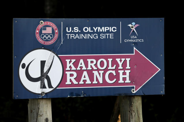 Many of Larry Nassar's attacks occurred at the Karolyi Ranch outside Huntsville, Texas, which the national team used as a training center. (AP)