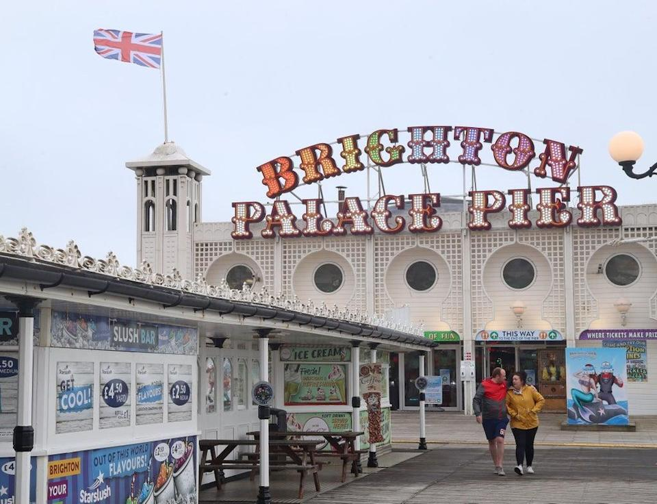 Shares in Brighton Pier Group surged after it confirmed it has settled £5m of business interruption claims with insurers (Gareth Fuller/PA) (PA Archive)