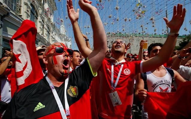 """Belgium vs Tunisia, World Cup 2018 Group G clash, kicks off at 1pm on BBC 1 You are the VAR: Think you can do better than the World Cup referees? Test yourself here Get Telegraph Football WhatsApp for in-match analysis and talking points throughout the World Cup Betting guide: predictions and tips for Belgium v Tunisia WorldCup - newsletter promo - end of article 12:30PM Frank Lampard I'm paraphrasing this a little bit because my hands aren't typing as quickly as I want to yet. I'm getting warmed up. Don't worry. Anyway, Lampard has revealed his long, arduous journey from a comfortable upper-middle class background. """"I went to a private school in Essex so I feel bad compared to these guys! What I did have was a father who pushed me. """"It was a real eye opener when Chelsea became a bit more cosmopolitan and Didier etc came in, we maybe didn't realise how easy we had it because they told us stories about back home and you see how lucky you are."""" 12:28PM Ex-pros on their journey Pablo Zabaleta """"We have a dream to play in Europe to play in the greatest league in the world. And it's really tough because you have to leave your friends, your family. I was 21 and I cannot complain, I went to Barcelona to Espanyol! You have to be mature for this, be a tough person for those moments."""" 12:27PM But who is going to win this game? World Cup 2018 Simulator Single Game Find out here! 12:26PM Romelu Lukaku interview The BBC have an incredible interview with Romelu Lukaku on screen at the moment. He reveals things like when he realised his family was broke, how he used to share football boots with his dad and a really sad story about how his granddad died just days before he signed a professional football deal - the contract he kept telling his mum would change their lives once he got it. Good lad. He's come a long way. Didier Drogba is his hero too and is talking about meeting Lukaku. """"He came up to me and said 'oh I know this goal, this minute you scored'. I remember it very well. H"""