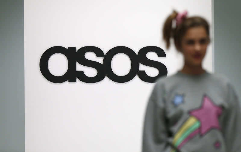 Shares in British retailers plunge after ASOS profit warning