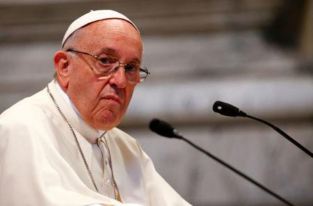 Pope warns oil executives: Climate change may 'destroy civilization'