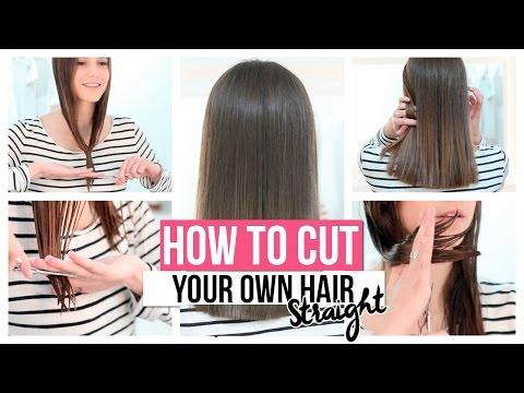 12 Ways To Cut Your Own Hair At Home