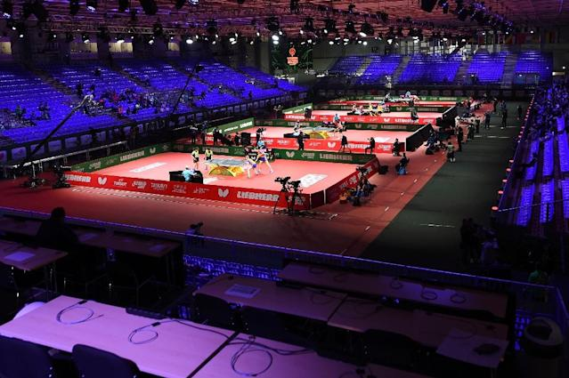 The excitement of the World Table Tennis Championships will come to the United States for the first time in Houston in 2021 (AFP Photo/ATTILA KISBENEDEK)