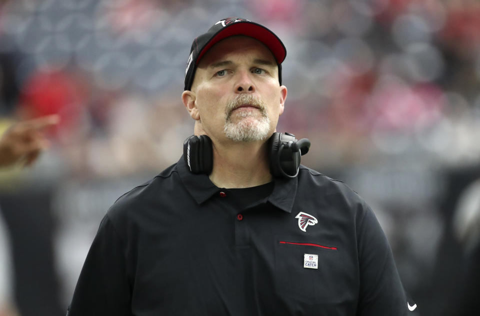 Arthur Blank isn't ready to cut the cord with head coach Dan Quinn, but his patience may soon run thin. (Reuters)