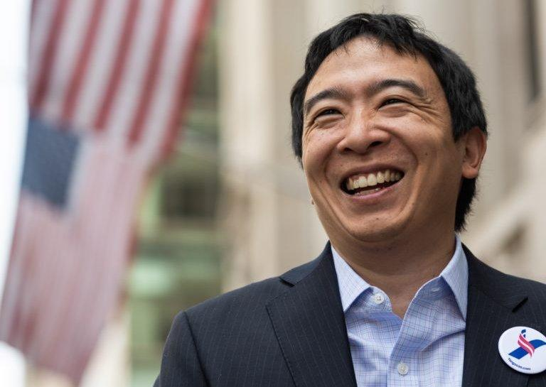 Andrew Yang claims he will regulate crypto at a 'national level'