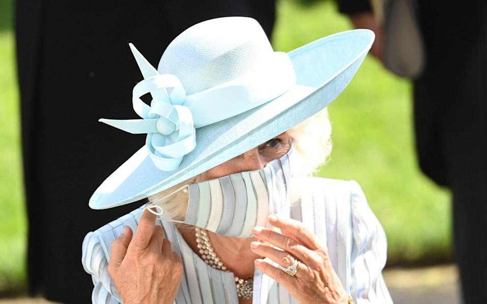 The Duchess of Cornwall - PAUL GROVER FOR THE TELEGRAPH