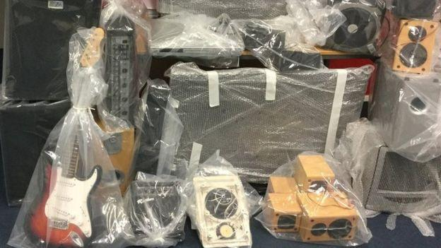 Salford Council were forced to confiscate his stereo equipment after he refused to keep the noise down. (Salford Council)