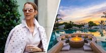 "<p>Curious about a star's idea of a backyard? Look no further than Celine Dion's former <a href=""https://www.elledecor.com/celebrity-style/celebrity-homes/news/a6855/celine-dion-jupiter-island-house/"" rel=""nofollow noopener"" target=""_blank"" data-ylk=""slk:Jupiter Island, Florida, house"" class=""link rapid-noclick-resp"">Jupiter Island, Florida, house</a>. The property's backyard includes three pools and a waterpark.</p>"