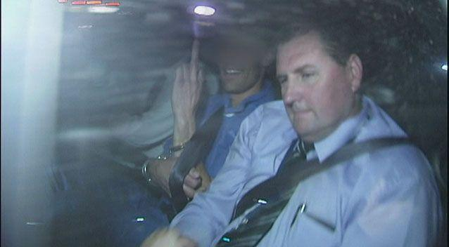 Sean Christian Price appeared briefly at Melbourne Magistrates Court over the murder of Masa Vukotic. Photo: 7News