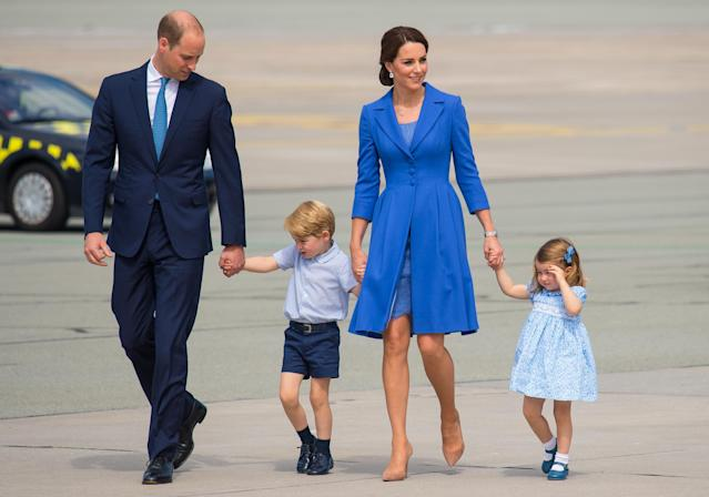 The third royal baby could be born close to the couple's wedding anniversary or to the birthday of Princess Charlotte. (Photo: PA
