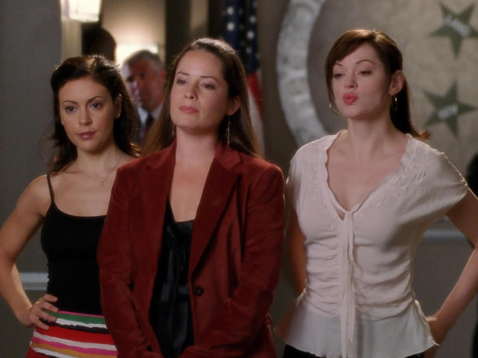 The Halliwell sisters from the original Charmed. Could they be the best witch, or witches, from pop culture?