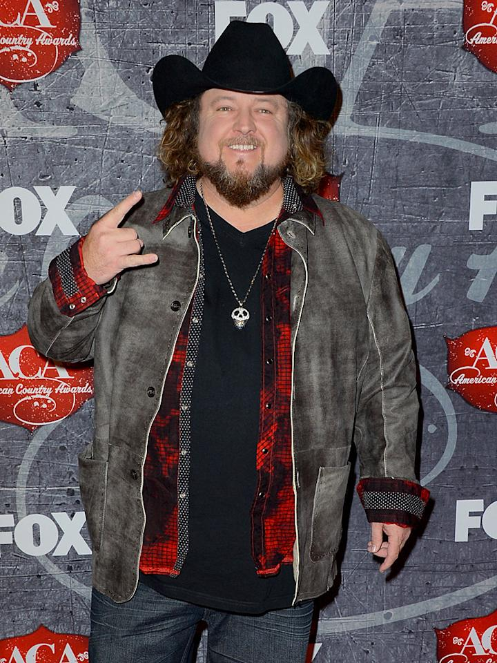 LAS VEGAS, NV - DECEMBER 10:  Singer Colt Ford arrives at the 2012 American Country Awards at the Mandalay Bay Events Center on December 10, 2012 in Las Vegas, Nevada.  (Photo by Frazer Harrison/Getty Images)