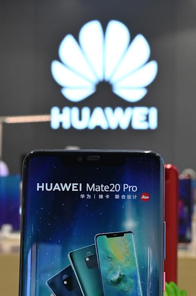 Chinese smartphone maker Huawei has become increasingly isolated in the sector as US technology firms block access to software and hardware to comply with sanctions imposed by Washington (AFP Photo/HECTOR RETAMAL)