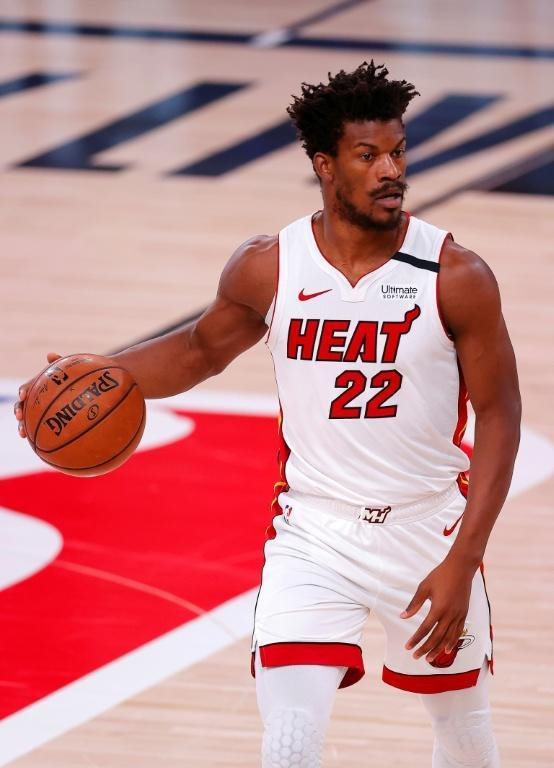 Jimmy Butler says he is finally at home in Miami, his third club in three seasons