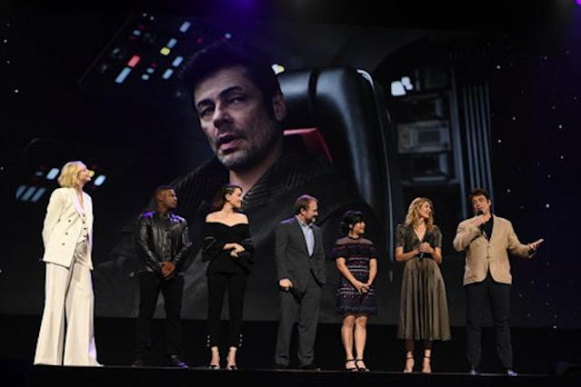 "<p>While we get our first official look at Benicio Del Toro here, not much else was revealed about his character, only known so far as ""D.J."" (Disney/Image Group LA) </p>"