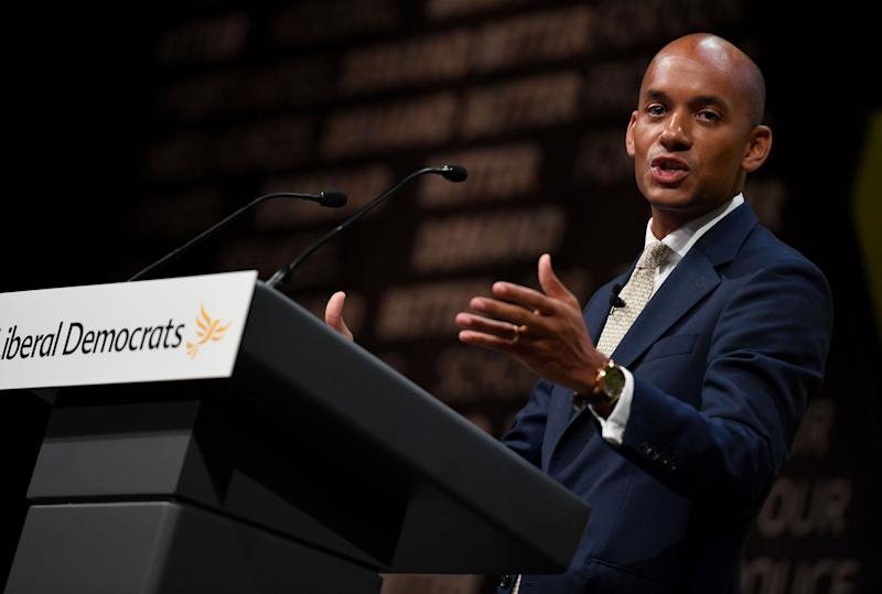Umunna defected from Labour to the Lib Dems via the Independent Group/Change UK over the last year (Photo: Finnbarr Webster via Getty Images)