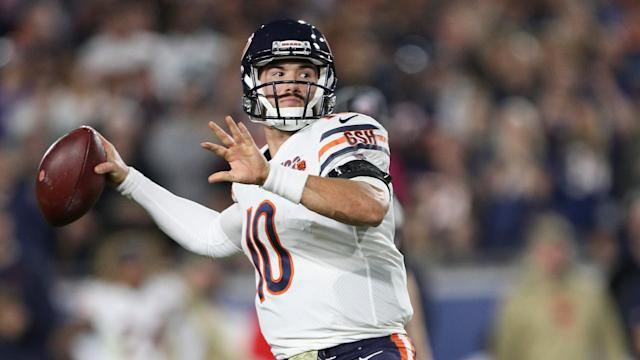 Chicago Bears quarterback Mitchell Trubisky will start again under Matt Nagy in the 2020 NFL season.