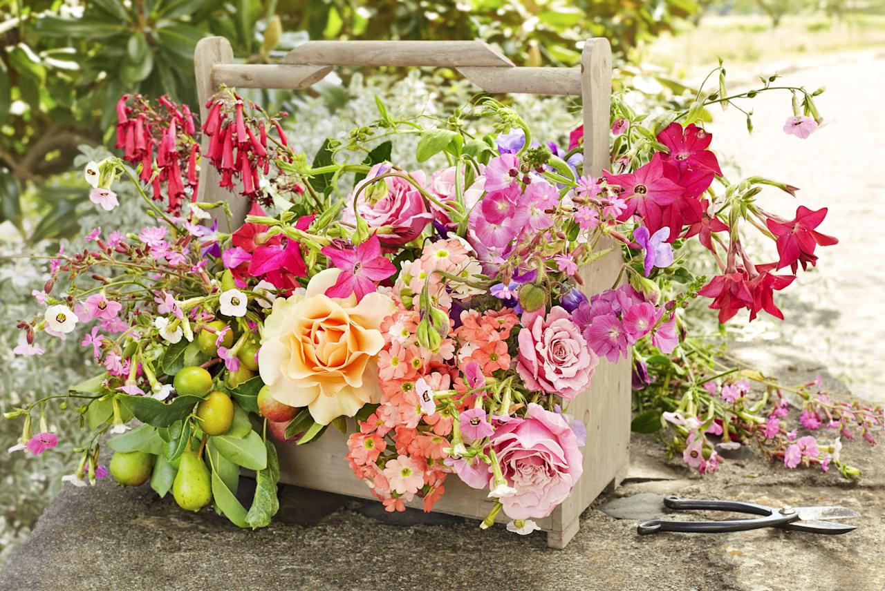 <p>Don't toss out that old toolbox! Its size makes itideal for holding a flower arrangement as a beautiful Easter centerpiece.<span></span></p>