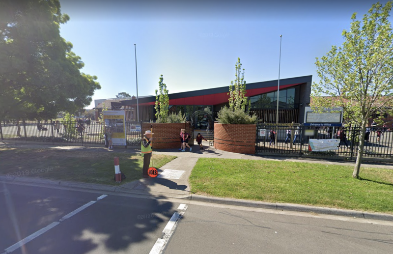 Strathmore Primary School in Melbourne is pictured.