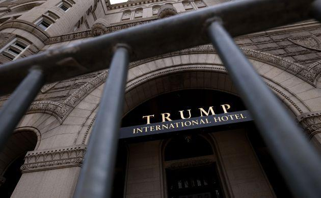 The Trump International Hotel in Washington, D.C. (Photo: Kevin Dietsch via Getty Images)