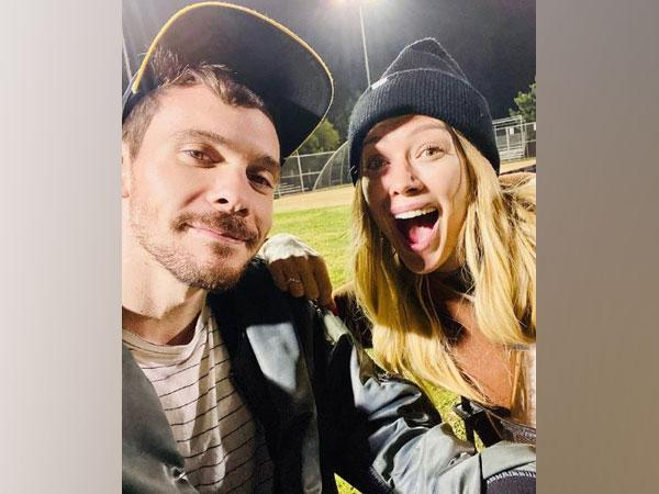 Hilary Duff with her husband (Image courtesy: Instagram)