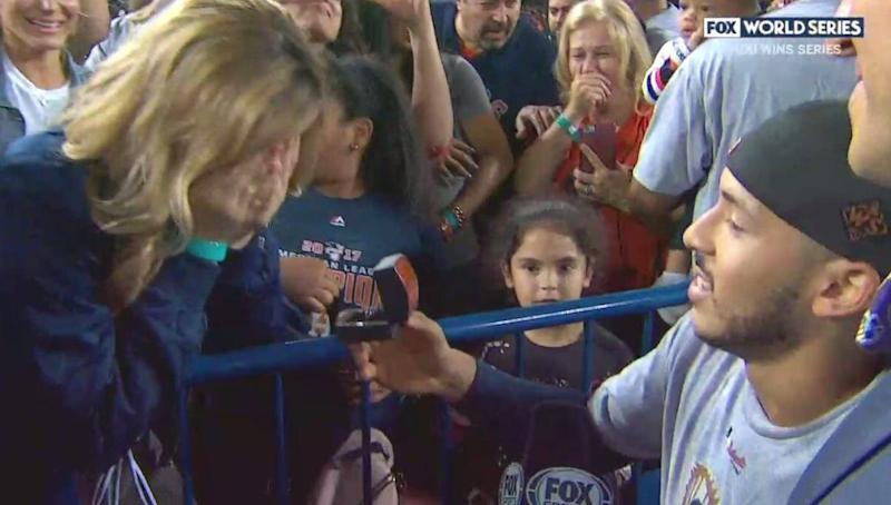 This Little Girl Is Totally Heartbroken Over Carlos Correa's Engagement