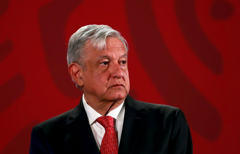 Mexican cartel shows its might as president visits its heartland