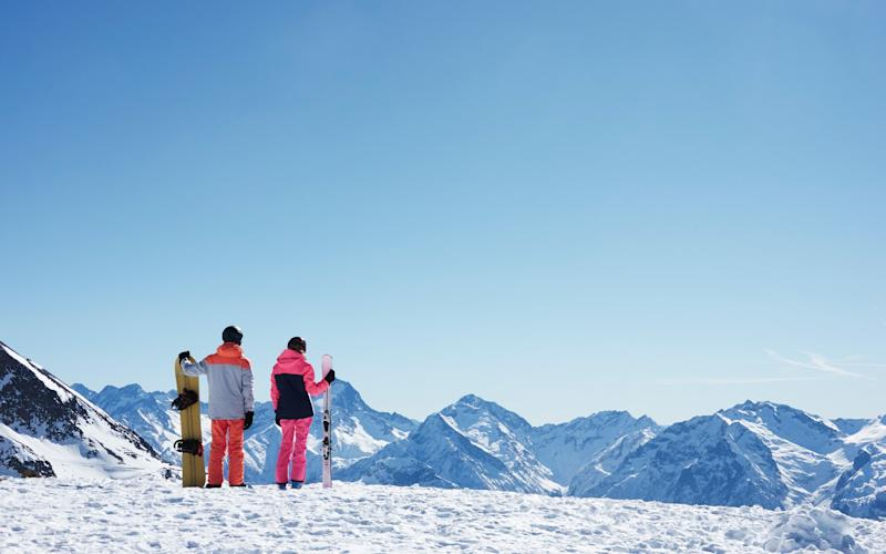 Skiers have lost their direct rail route to the Alps - getty