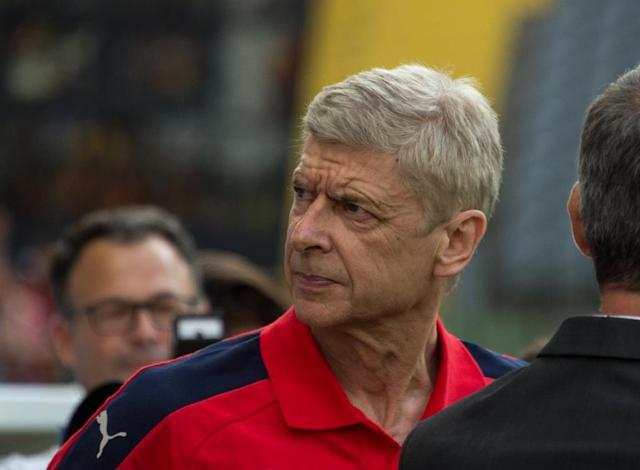 Arsenal coach Arsene Wenger says he's not sure whether his team can recover in time for their Premier League clash against defending champions Leicester City next week (AFP Photo/Denis Charlet)