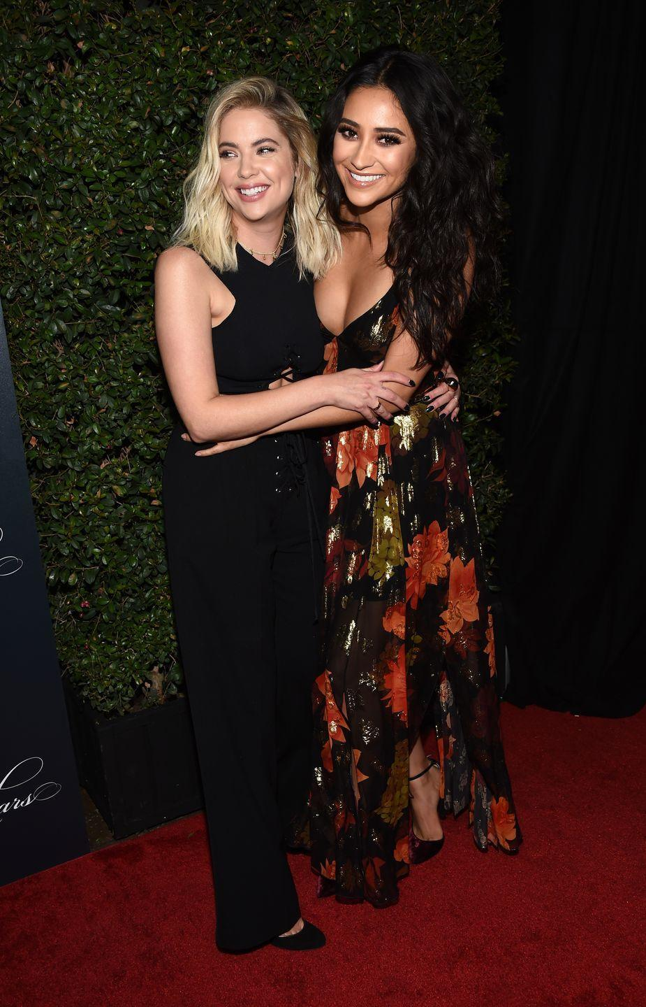 """<p>The on and offscreen BFFs met while they were filming their hit show, <em>Pretty Little Liars. </em>Since the show's premiere nine years ago, the two have managed to stay in touch despite busy schedules, often going on vacations with each other, attending Coachella, and creating their own unique friendship name, <a href=""""https://www.instagram.com/p/8GxGIBwrxf/"""" rel=""""nofollow noopener"""" target=""""_blank"""" data-ylk=""""slk:#buttahbenzo."""" class=""""link rapid-noclick-resp"""">#buttahbenzo.</a></p>"""