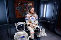 Hilary Swank stars in this gripping series about a space commander, Emma Green (Hilary Swank), who leaves her husband and teenage daughter behind to embark on an intense, three-year mission to Mars. Fans of movies like <em>Gravity</em> and <em>Interstellar</em> will love this, as well as Swank fans in general. (Is that an Emmy nomination I hear?) <em>Netflix</em>