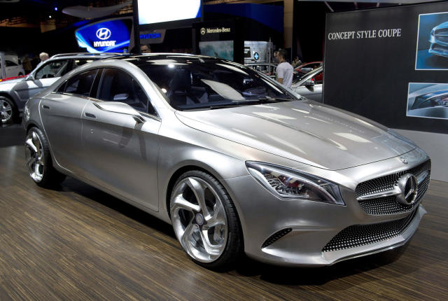 <p>A Mercedes concept car at the Canadian International Auto Show in Toronto on February 14, 2013THE CANADIAN PRESS/Frank Gunn</p>