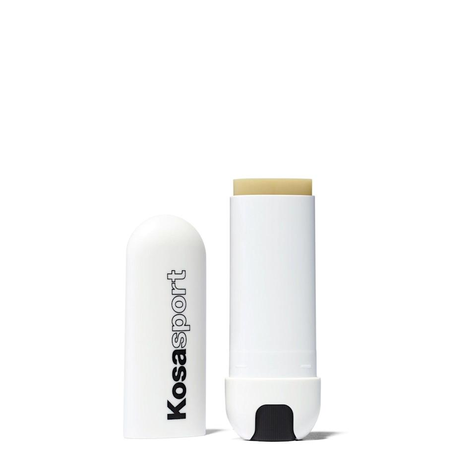 """<p><strong>Kosas</strong></p><p>kosas.com</p><p><strong>$18.00</strong></p><p><a href=""""https://go.redirectingat.com?id=74968X1596630&url=https%3A%2F%2Fkosas.com%2Fcollections%2Flip-makeup%2Fproducts%2Flipfuel%3Fvariant%3D32907926962233&sref=https%3A%2F%2Fwww.harpersbazaar.com%2Fbeauty%2Fhealth%2Fg23900366%2Fbest-fitness-gifts-ideas%2F"""" rel=""""nofollow noopener"""" target=""""_blank"""" data-ylk=""""slk:Shop Now"""" class=""""link rapid-noclick-resp"""">Shop Now</a></p><p>Both chic and sporty, Kosas Lipfuel contains vitamin E to soothe and smooth lips. The sleek packaging makes it something anyone would be excited to reach for in their bag.</p>"""