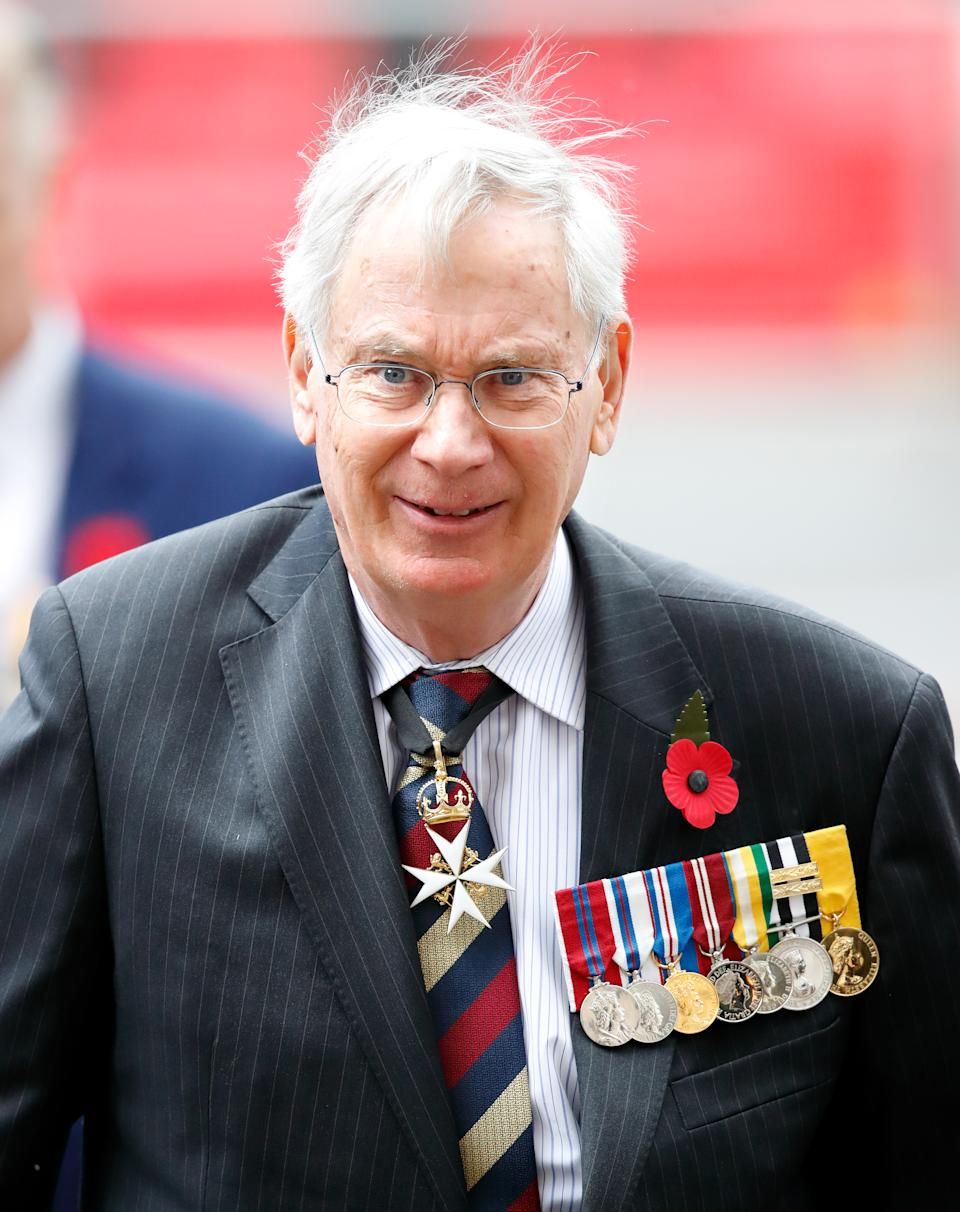 LONDON, UNITED KINGDOM - APRIL 25: (EMBARGOED FOR PUBLICATION IN UK NEWSPAPERS UNTIL 24 HOURS AFTER CREATE DATE AND TIME) Prince Richard, Duke of Gloucester attends the ANZAC Day Service of Commemoration and Thanksgiving at Westminster Abbey on April 25, 2019 in London, England. ANZAC Day is national day of remembrance in Australia and New Zealand marking the anniversary of the ANZAC (Australian and New Zealand Army Corps) landings at Gallipoli in 1916 during the First World War. (Photo by Max Mumby/Indigo/Getty Images)