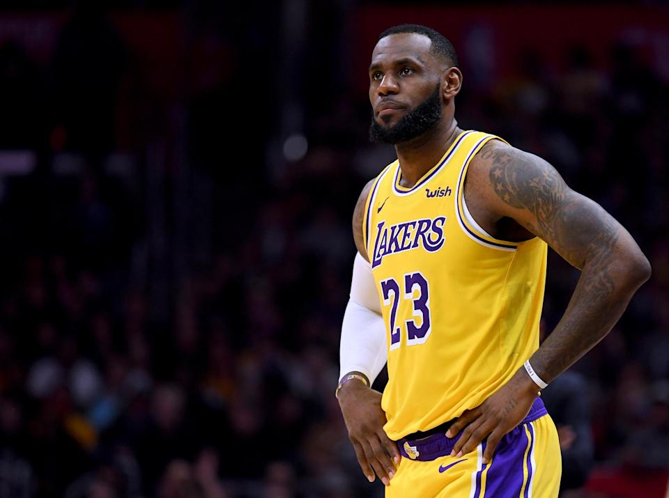 Successfully building around LeBron James is Magic's Johnson's only job. (Getty)