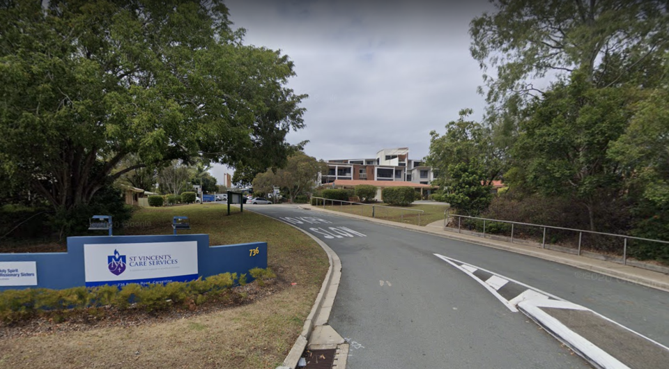 The Holy Spirit aged care facility where the vaccinations were adminIstered. Source: Google Maps