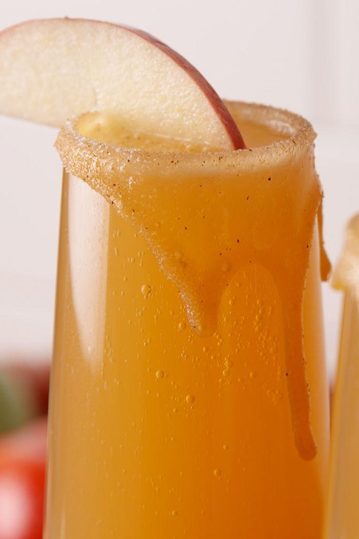 "<p>Booze + no gooey mess? This is the best caramel apple we've ever had.</p><p>Get the recipe from <a href=""https://www.delish.com/cooking/recipe-ideas/recipes/a49432/caramel-apple-mimosas-recipe/"" rel=""nofollow noopener"" target=""_blank"" data-ylk=""slk:Delish"" class=""link rapid-noclick-resp"">Delish</a>.</p>"