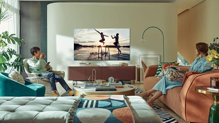 Samsung's fleet of premium QLED televisions can be ideal for everything from watching movies to catching your favorite sporting event.