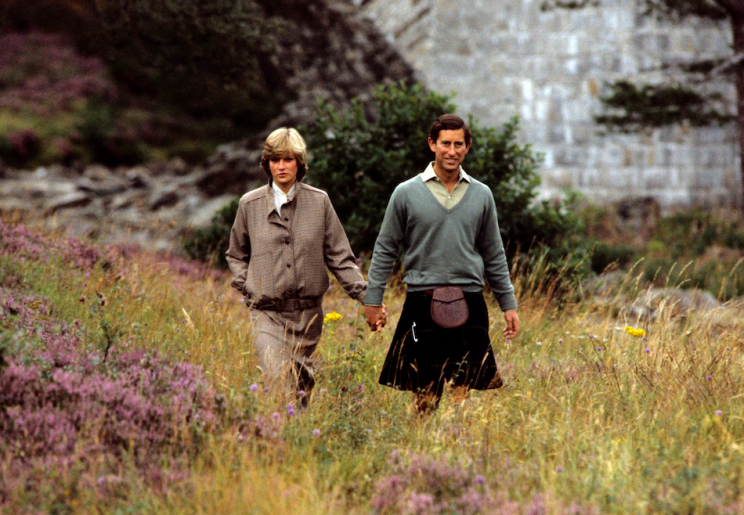 Diana struggled when the pair went to Balmoral after their wedding (Picture: PA)