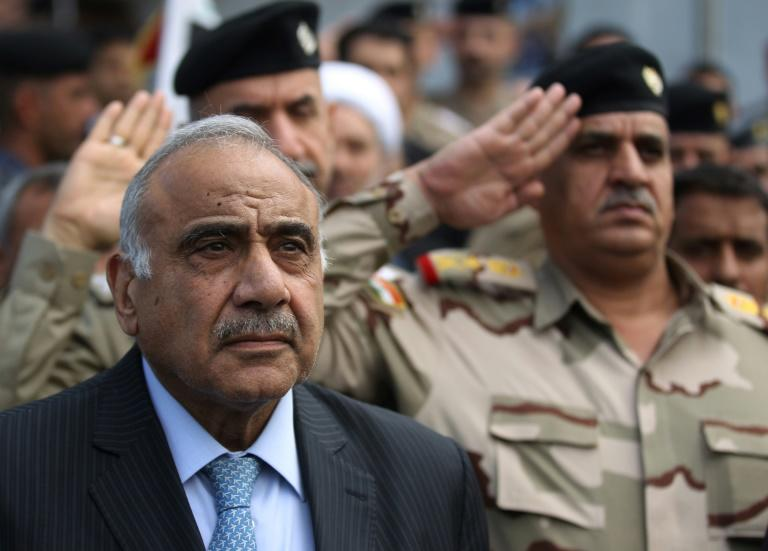 Iraqi Prime Minister Adel Abdel Mahdi, whose resignation has been accepted by parliament after barely one year in office, will stay on in a caretaker capacity until a replacement has been named (AFP Photo/AHMAD AL-RUBAYE)