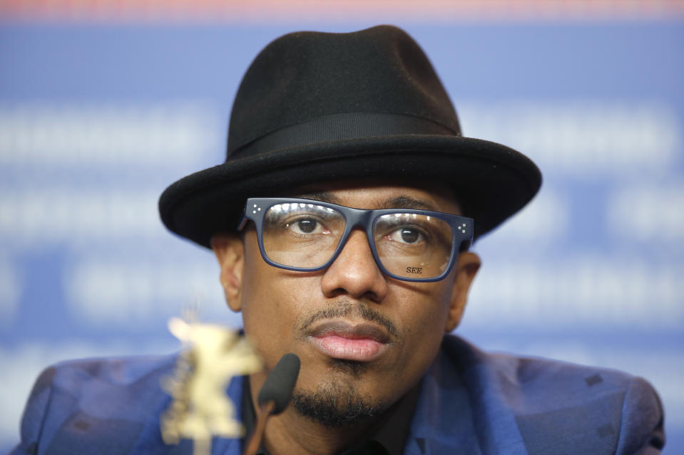 Nick Cannon learned he comes from a Jewish family after making anti-Semitic comments. (Fabrizio Benschz/Reuters)