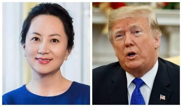 Lawyers for Huawei chief financial officer Meng Wanzhou claim that former U.S. President Donald Trump threatened to use their client as a bargaining chip in the U.S. trade war with China.