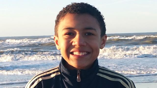 The FC Dordrecht U-14 striker has been called up to the youth squad of the Yanks for the first time
