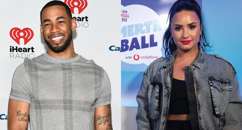 Mike Johnson says he's a fan of Demi Lovato's kissing skills. (Photo: Getty Images)