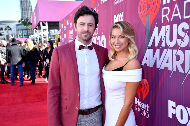 Stassi Schroder and Beau Clark at iHeartRadio Music Awards