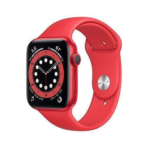 AppleWatch Series 6 (GPS, 44mm) - (Product) RED - Aluminum Case with (Product) RED - Sport…